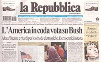 la Repubblica del 2006 - rassegna stampa - Prof. Nicola Sorrentino