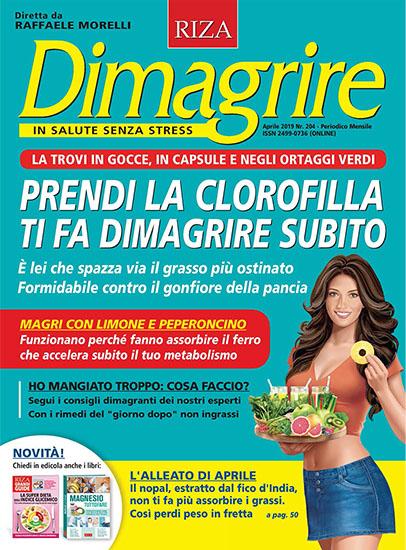 Dimagrire n.204 di aprile 2019 - rassegna stampa - Prof. Nicola Sorrentino