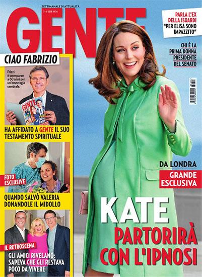 Gente n.14 del 7 aprile 2018 - rassegna stampa - Prof. Nicola Sorrentino
