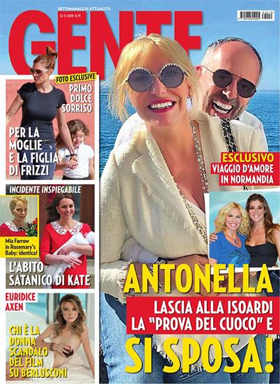 Gente n.19 del 12 maggio 2018 - rassegna stampa - Prof. Nicola Sorrentino