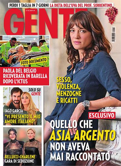 Gente n.41 del 13 ottobre 2018 - rassegna stampa - Prof. Nicola Sorrentino