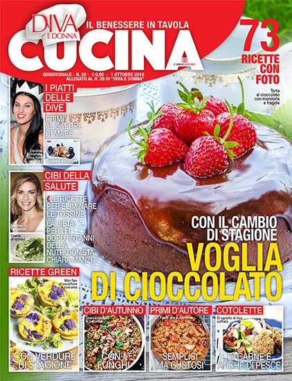 Diva Cucina n.20 dell'1 ottobre 2019 - allegato Diva e Donna n.39 - rassegna stampa - Prof. Nicola Sorrentino
