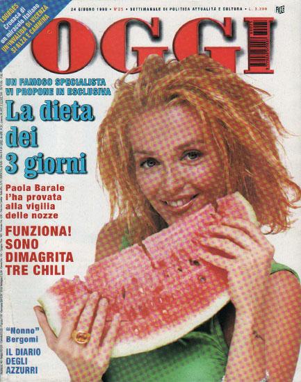 Oggi n.25 del 24 giugno 1998 - rassegna stampa - Prof. Nicola Sorrentino