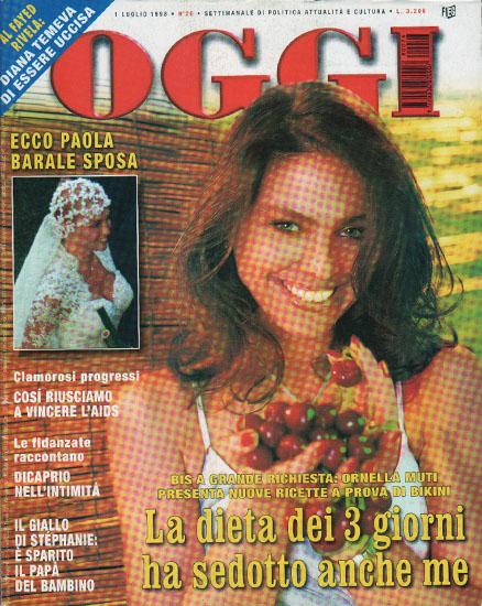 Oggi n.26 dell'1 luglio 1998 - rassegna stampa - Prof. Nicola Sorrentino