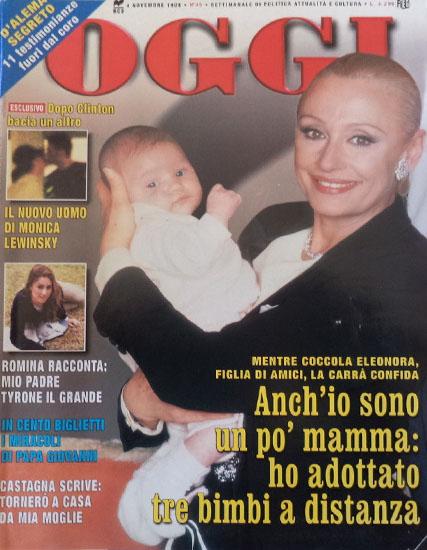 Oggi n.45 del 4 novembre 1998 - rassegna stampa - Prof. Nicola Sorrentino