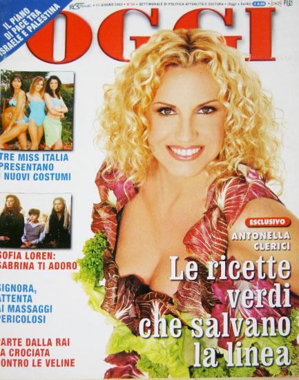 Oggi n.24 del 11 giugno 2003 - rassegna stampa - Prof. Nicola Sorrentino