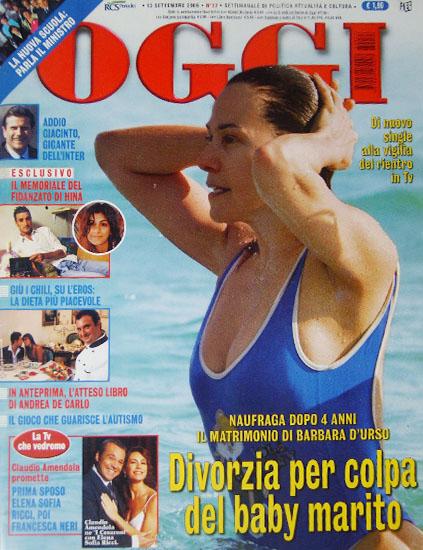 Oggi n.37 del 13 settembre 2006 - rassegna stampa - Prof. Nicola Sorrentino