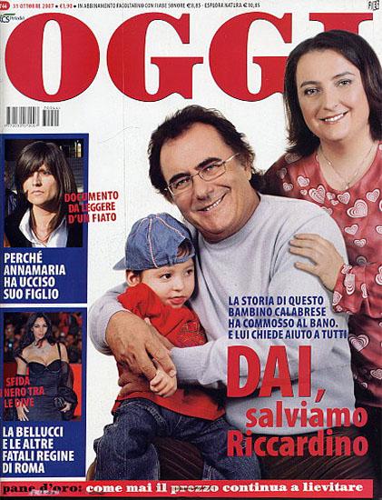Oggi n.44 del 31 ottobre 2007 - rassegna stampa - Prof. Nicola Sorrentino