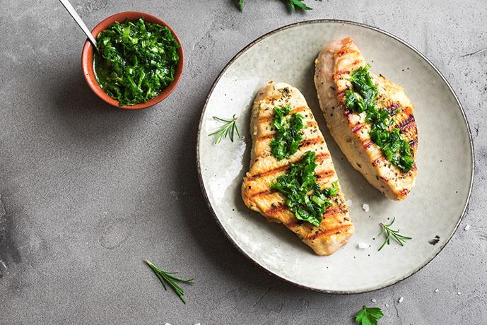 Petto di pollo con salsa verde - Prof. Nicola Sorrentino