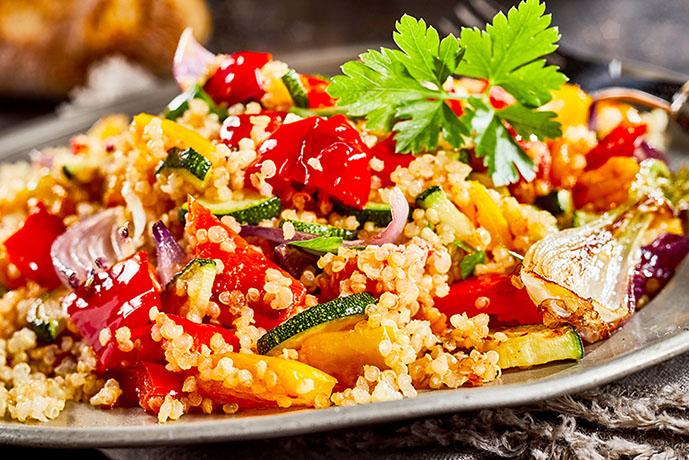 Quinoa con verdure - Prof. Nicola Sorrentino