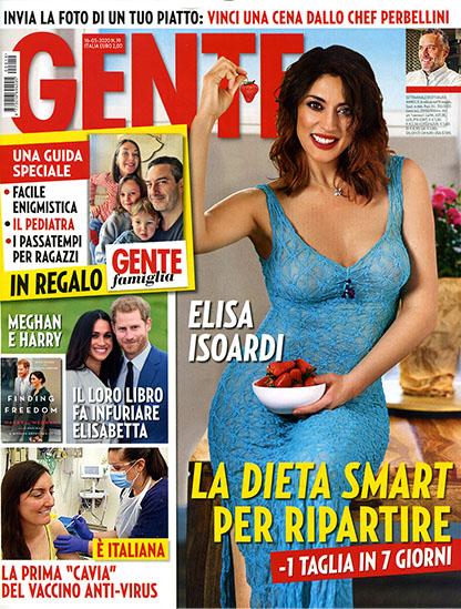 Gente n.19 del 16 maggio 2020 - rassegna stampa - Prof. Nicola Sorrentino