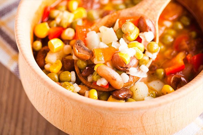 Minestrone con riso e legumi - Prof. Nicola Sorrentino