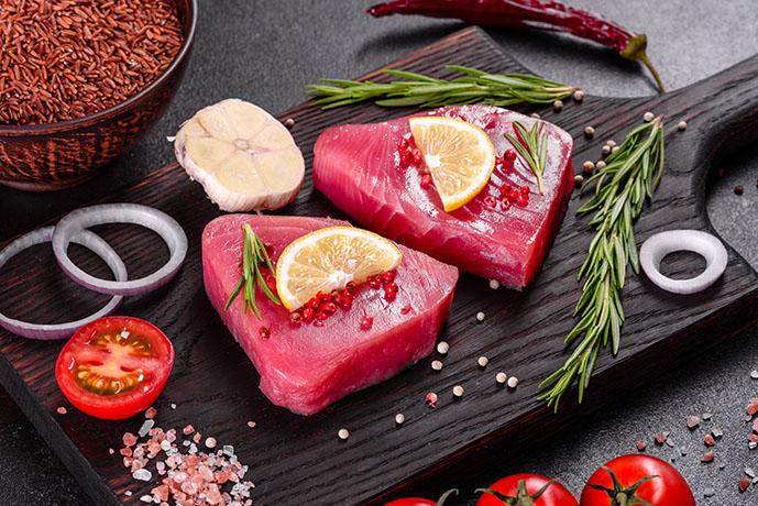 Filetto di tonno con pomodori e limone - Prof. Nicola Sorrentino