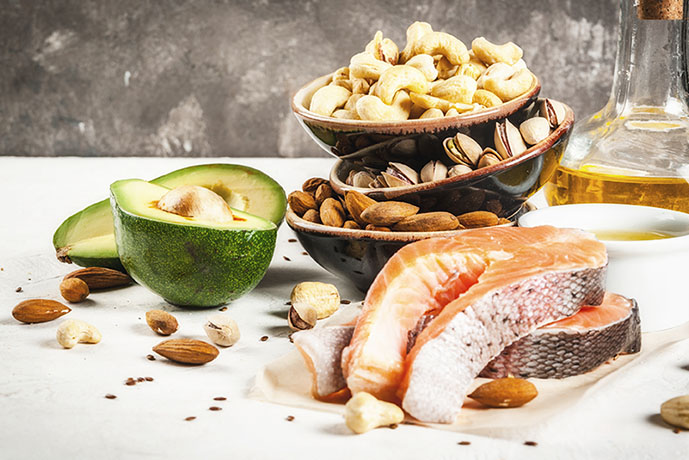 Filetto di salmone con anacardi - Prof. Nicola Sorrentino