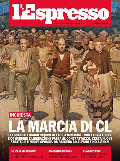 l'Espresso n.9 dell'1 marzo 2012 - rassegna stampa - Prof. Nicola Sorrentino