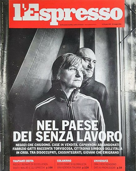l'Espresso n.19 del 10 maggio 2012 - rassegna stampa - Prof. Nicola Sorrentino