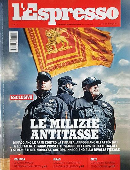 l'Espresso n.22 del 31 maggio 2012 - rassegna stampa - Prof. Nicola Sorrentino
