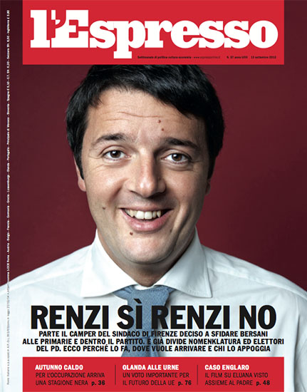 l'Espresso n.37 del 13 settembre 2012 - rassegna stampa - Prof. Nicola Sorrentino