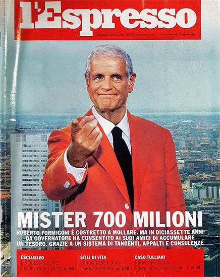 l'Espresso n.43 del 25 ottobre 2012 - rassegna stampa - Prof. Nicola Sorrentino