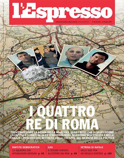 l'Espresso n.50 del 13 dicembre 2012 - rassegna stampa - Prof. Nicola Sorrentino