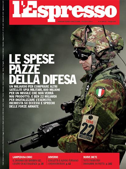 l'Espresso n.18 del 9 maggio 2013 - rassegna stampa - Prof. Nicola Sorrentino