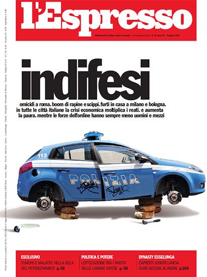 l'Espresso n.22 dell'8 giugno 2013 - rassegna stampa - Prof. Nicola Sorrentino