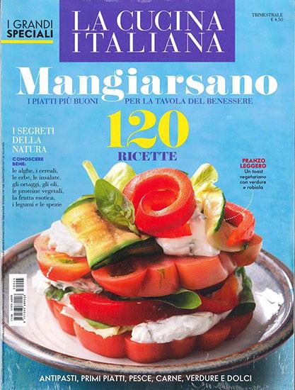La Cucina Italiana - I Grandi Speciali n.45 del 2015 - rassegna stampa - Prof. Nicola Sorrentino