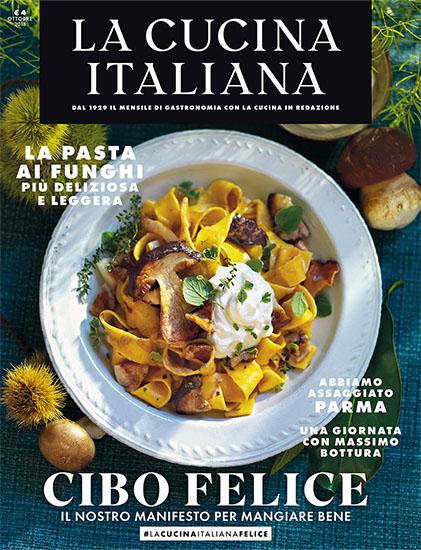 La Cucina Italiana di ottobre 2018 - rassegna stampa - Prof. Nicola Sorrentino