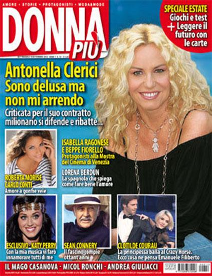 Donna Più n.12 del 9 settembre 2010 - rassegna stampa - Prof. Nicola Sorrentino