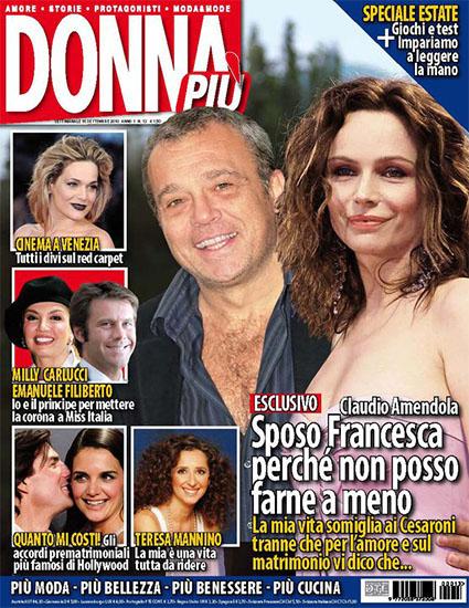 Donna Più n.13 del 16 settembre 2010 - rassegna stampa - Prof. Nicola Sorrentino