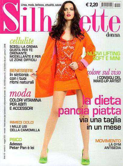 Silhouette Donna n.5 di maggio 2012 - rassegna stampa - Prof. Nicola Sorrentino