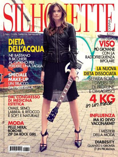 Silhouette Donna n.11 di novembre 2014 - rassegna stampa - Prof. Nicola Sorrentino