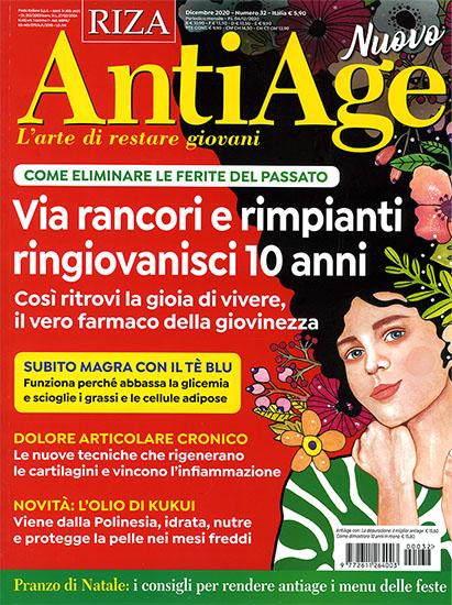 AntiAge n.32 di dicembre 2020 - rassegna stampa - Prof. Nicola Sorrentino