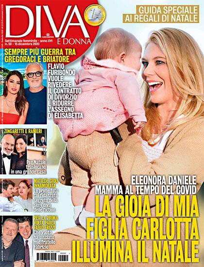 Diva e Donna n.50 del 15 dicembre 2020 - rassegna stampa - Prof. Nicola Sorrentino