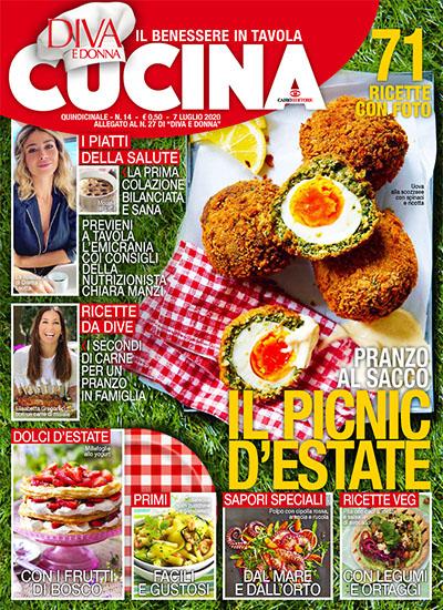 Diva Cucina n.14 del 7 luglio 2020 - allegato Diva e Donna n.27 - rassegna stampa - Prof. Nicola Sorrentino