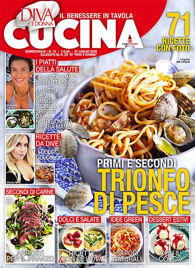 Diva Cucina n.15 del 21 luglio 2020 - allegato Diva e Donna n.29 - rassegna stampa - Prof. Nicola Sorrentino