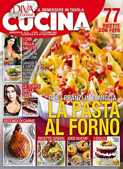 Diva Cucina n.21 del 13 ottobre 2020 - allegato Diva e Donna n.41 - rassegna stampa - Prof. Nicola Sorrentino