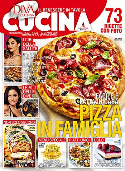 Diva Cucina n.22 del 27 ottobre 2020 - allegato Diva e Donna n.43 - rassegna stampa - Prof. Nicola Sorrentino