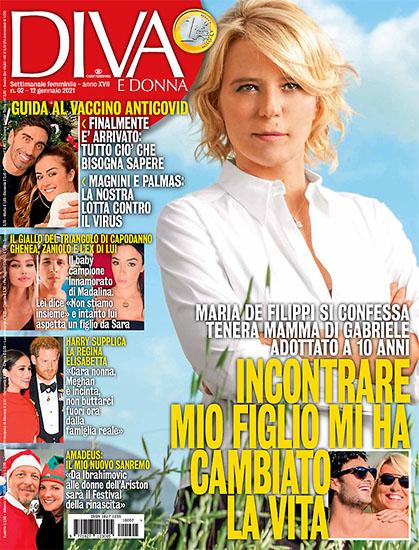 Diva e Donna n.2 del 12 gennaio 2021 - rassegna stampa - Prof. Nicola Sorrentino