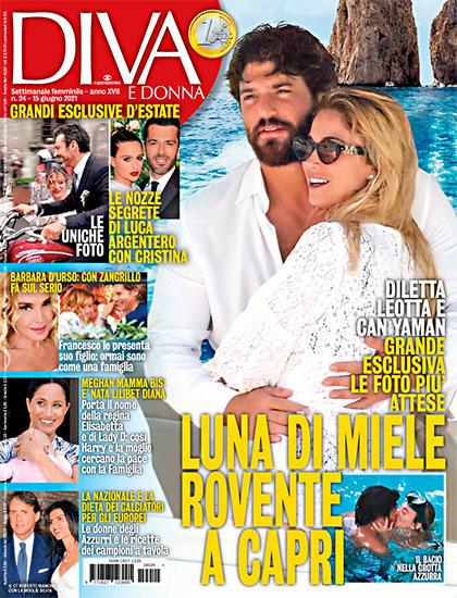 Diva e Donna n.24 del 15 giugno 2021 - rassegna stampa - Prof. Nicola Sorrentino