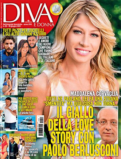 Diva e Donna n.26 del 29 giugno 2021 - rassegna stampa - Prof. Nicola Sorrentino