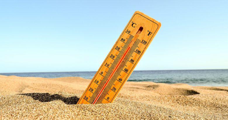 Termometro su spiaggia calda - Prof. Nicola Sorrentino