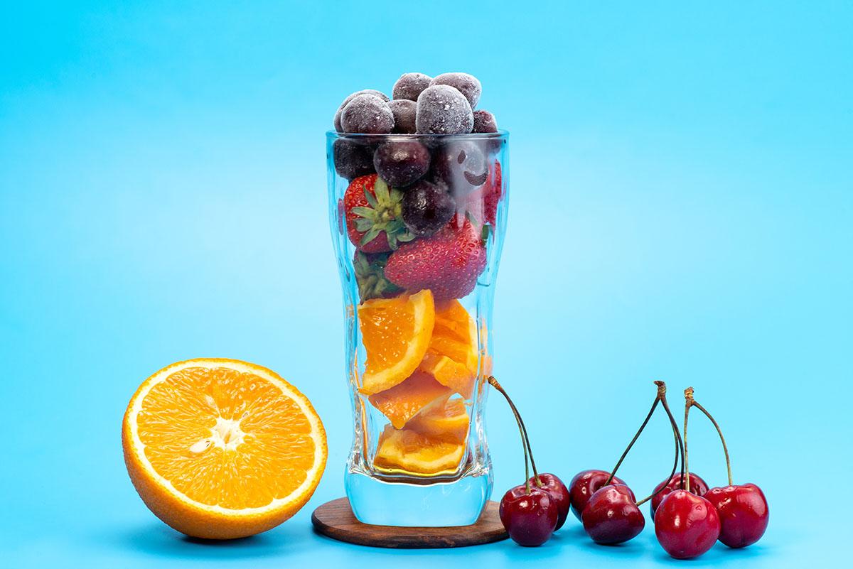 Frutta fresca con ghiaccio - Prof. Nicola Sorrentino