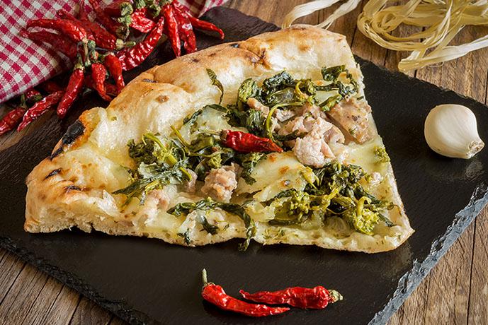 Pizza salsiccia e friarielli - Prof. Nicola Sorrentino