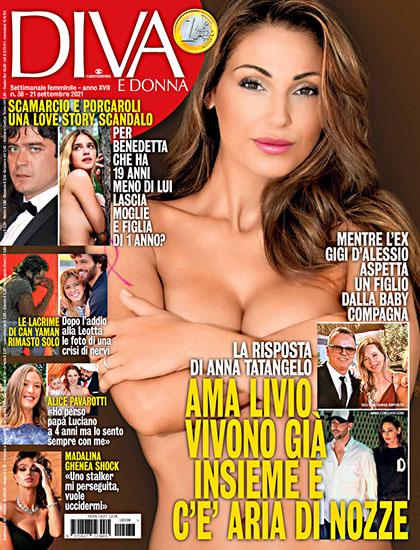 Diva e Donna n.38 del 21 settembre 2021 - rassegna stampa - Prof. Nicola Sorrentino